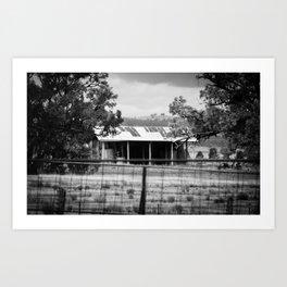 Gunnedah, Australia Outback Shed Art Print
