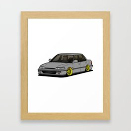 Civic EF Framed Art Print