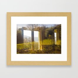 Wicklow Window  Framed Art Print