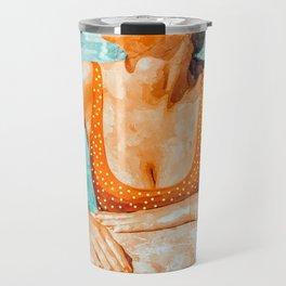 Mi Bebida Por Favor #painting #summer Travel Mug
