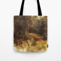 destiny Tote Bags featuring Destiny by Dorothy Pinder