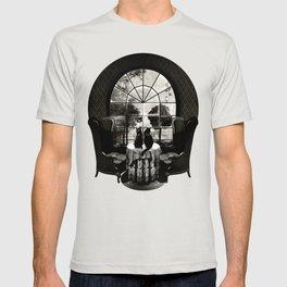 Room Skull B&W T-shirt