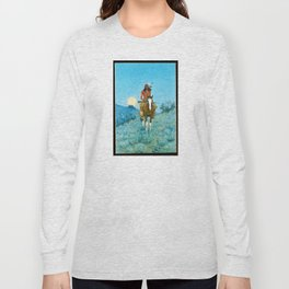 The Outlier by Frederic Sackrider Remington Long Sleeve T-shirt