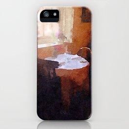 Tea Shop iPhone Case