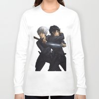 jem Long Sleeve T-shirts featuring Parabatai - Jem&Will by taratjah