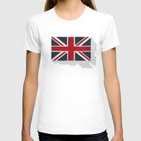 union jack T-shirts featuring Union by rob art | simple