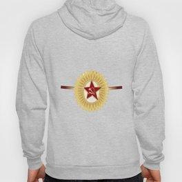 Soviet Officer Cap Badge Hoody