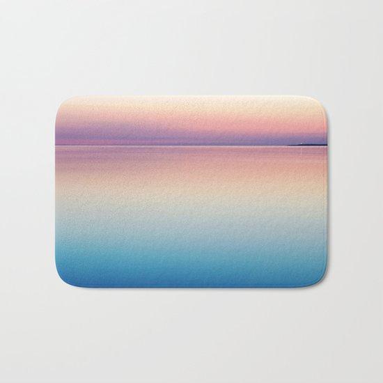 Rainbow Sunset Ocean Bath Mat
