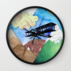 Paper plans Wall Clock