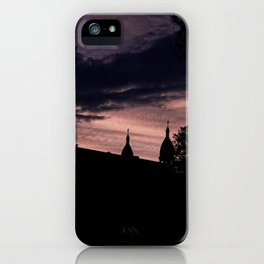Stormy Night in Montreal iPhone Case