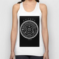 "occult Tank Tops featuring Everette Hartsoe's Occult 13 ""SPIRITBOARD"" by House of Hartsoe"