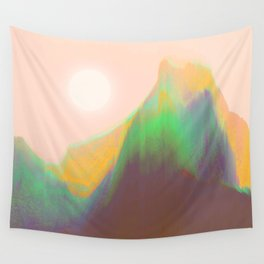 Mountain Heat Wall Tapestry