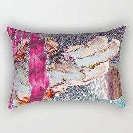 LAKE OF LIPS, LAVA MOUNTAIN, AND FULL MOON SEA  Rectangular Pillow