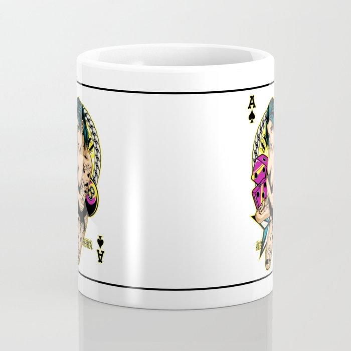 Tattooed Game Pin-Up Girl Coffee Mug