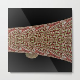 Tiled Abstract 9a Metal Print