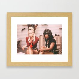 RONNIE & TRICKS Framed Art Print