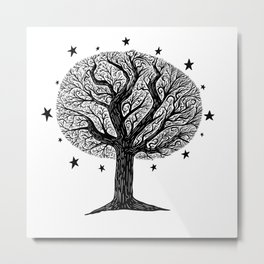 The dreaming tree Metal Print