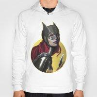 batgirl Hoodies featuring BATGIRL by corverez