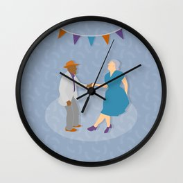 Dance Party Wall Clock