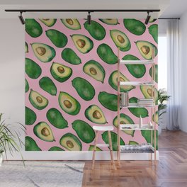 avocado life Wall Mural