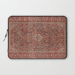 Kashan  Antique Persian Rug Laptop Sleeve
