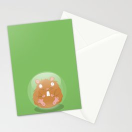 Hamsterball Stationery Cards