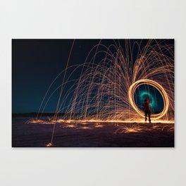 Star portal Canvas Print