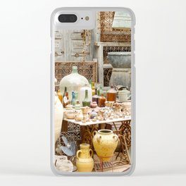 Market Djerba Tunisia Clear iPhone Case