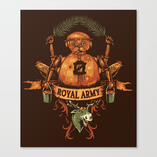 Royal Army Canvas Print