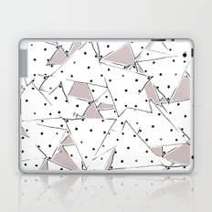 Dots and Triangles Laptop & iPad Skin