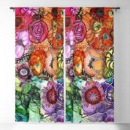 Razzle D Floral Blackout Curtain