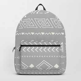 Indigo geometric Backpack