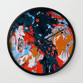 Marble texture 11 Wall Clock
