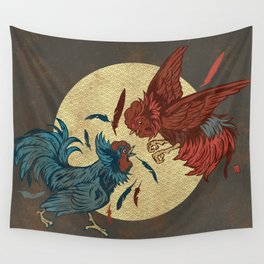 Ruler of The Roost Wall Tapestry