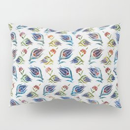 Turkish tulip - Ottoman tile pattern 1 Pillow Sham