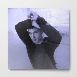 Tom Hardy on rain Metal Print