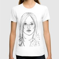 kate moss T-shirts featuring Kate Moss by Erika's Art Shoppe