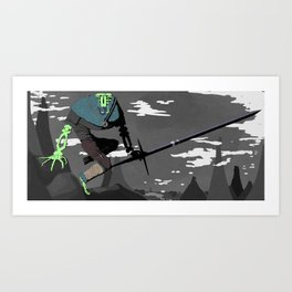 Ástveig Art Print