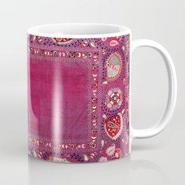 Shakhrisyabz  Southwest Uzbekistan Suzani Embroidery Print Coffee Mug