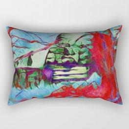 The Old Barn Rectangular Pillow