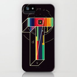 Time = Distance / Velocity iPhone Case