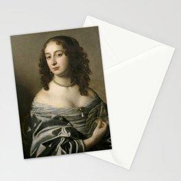 Gerard van Honthorst - Electress Sophia, Princess Palatine, consort of Ernest Augustus, Elector of H Stationery Cards