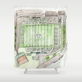 Trinity High School Football Field, Louisville, KY #gift Shower Curtain