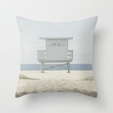 Path to the Lifeguard Stand Throw Pillow