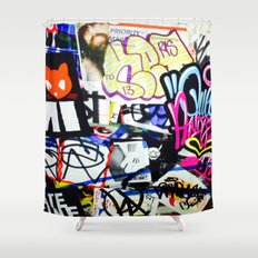 grafiti v.5 Shower Curtain