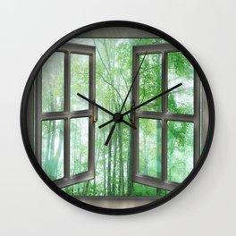 WINDOW TO NATURE Wall Clock