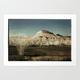 Colorado Plateau Art Print