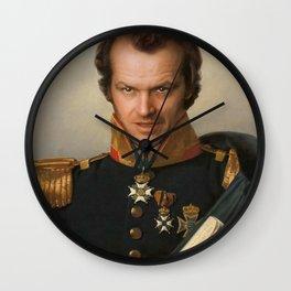Jack Torrance Portrait Wall Clock
