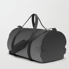 Black to White Duffle Bag