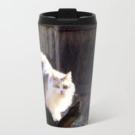 The Beautiful Maine Coon Dilute Calico Travel Mug